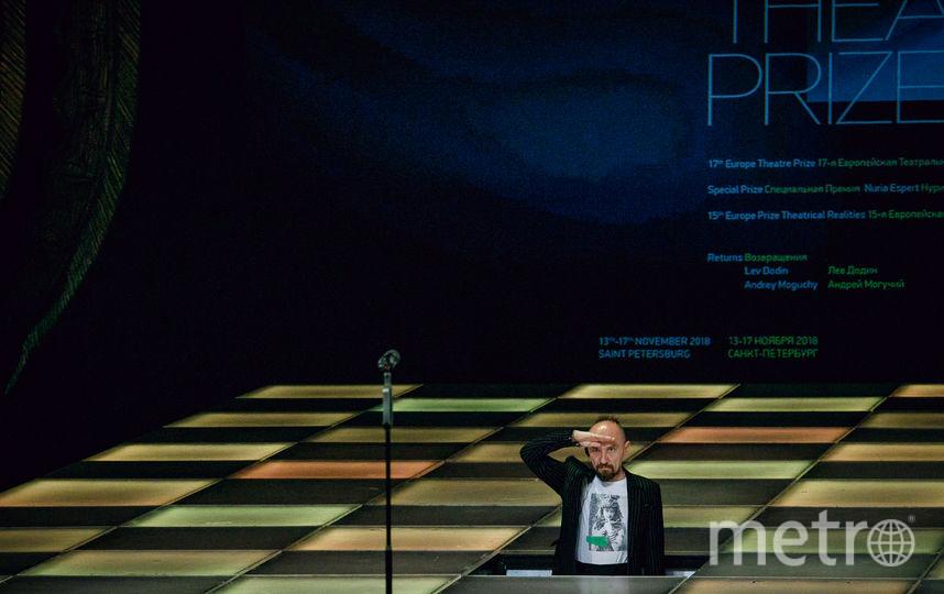"""Вручение премии. Фото Натальи Кореновской, предоставлены театром «Балтийский дом», """"Metro"""""""