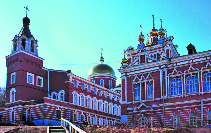"""Иверский монастырь горожане считают сердцем Самары. Фото Егор Важнов, """"Metro"""""""