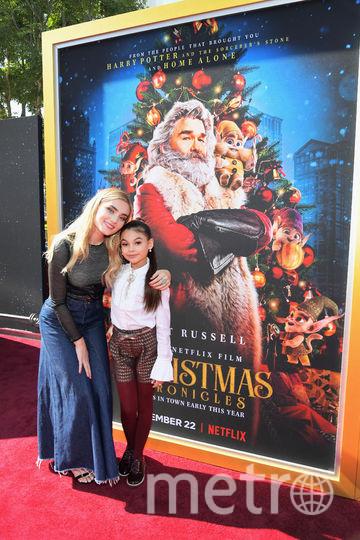 Премьера семейного фильма про Рождество. Постер к фильму. Фото Getty