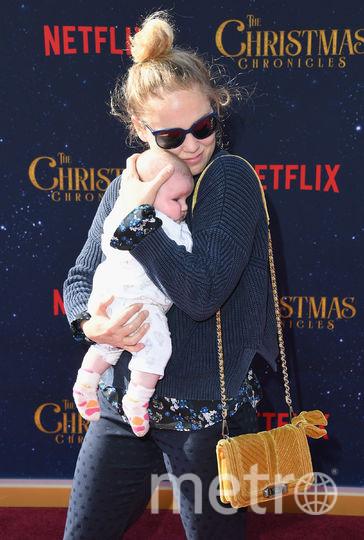 Премьера семейного фильма про Рождество. Erika Christensen. Фото Getty