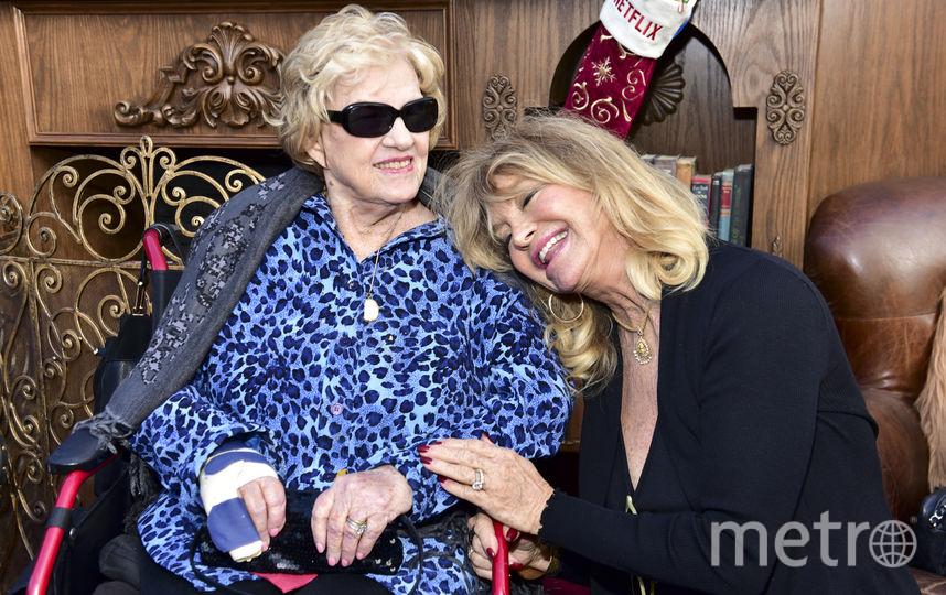 Мать Курта Рассела и Голди Хоун. Фото Getty