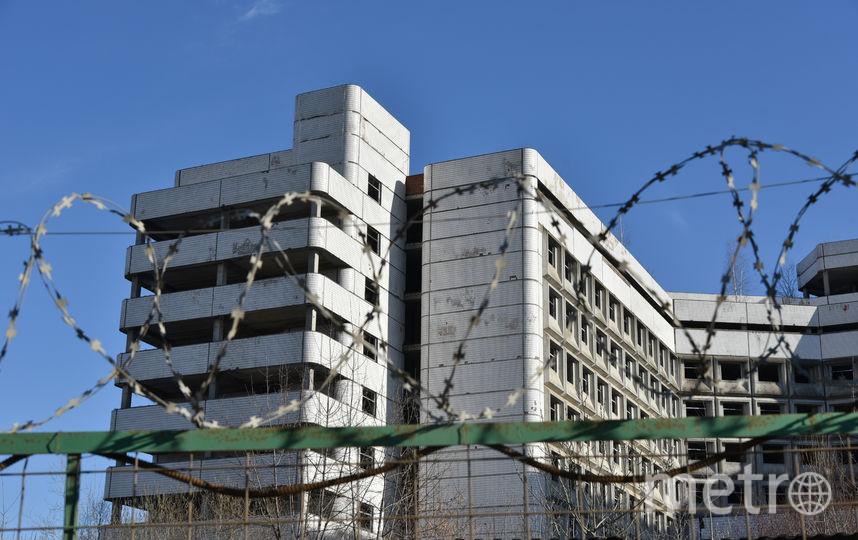 Ховринская заброшенная больница. Фото Василий Кузьмичёнок