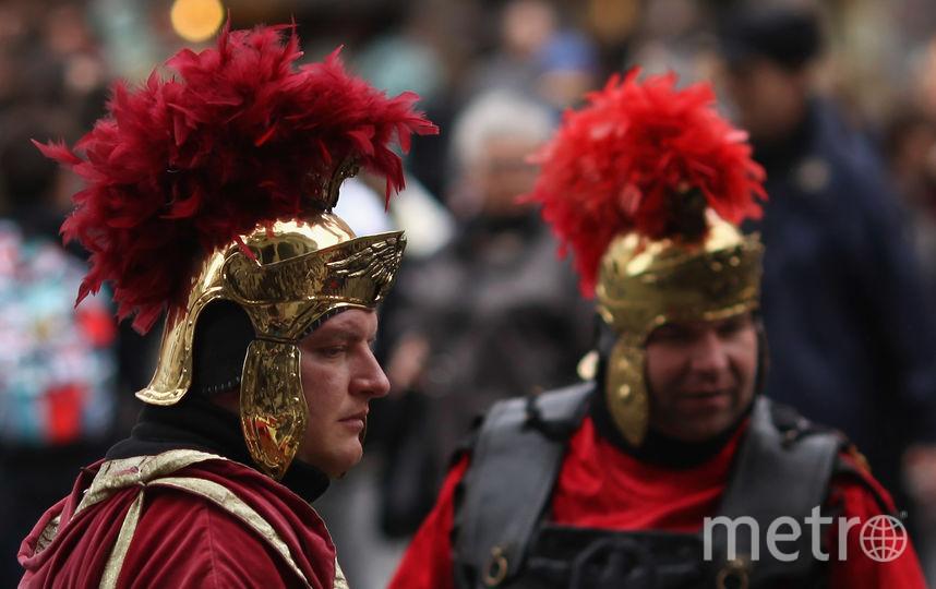 ВРиме запретили ходить вкостюмах центурионов иустраивать «тур побарам»