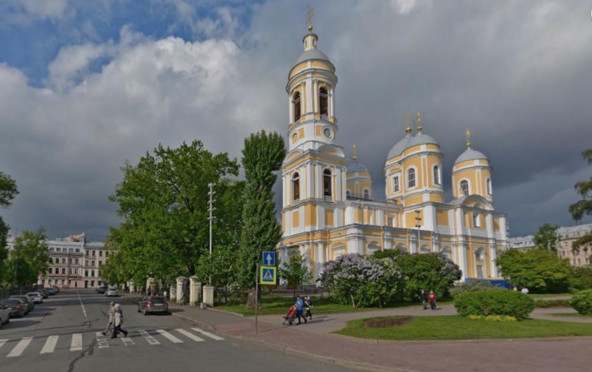 Князь-Владимирский собор. Фото скриншот Яндекс.Панорамы.