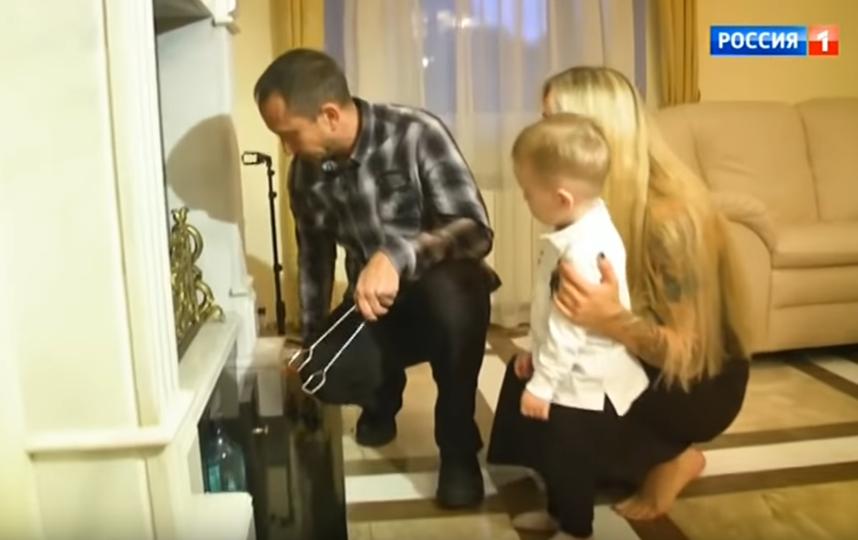 Данко с новой семьей. Фото Скриншот Youtube