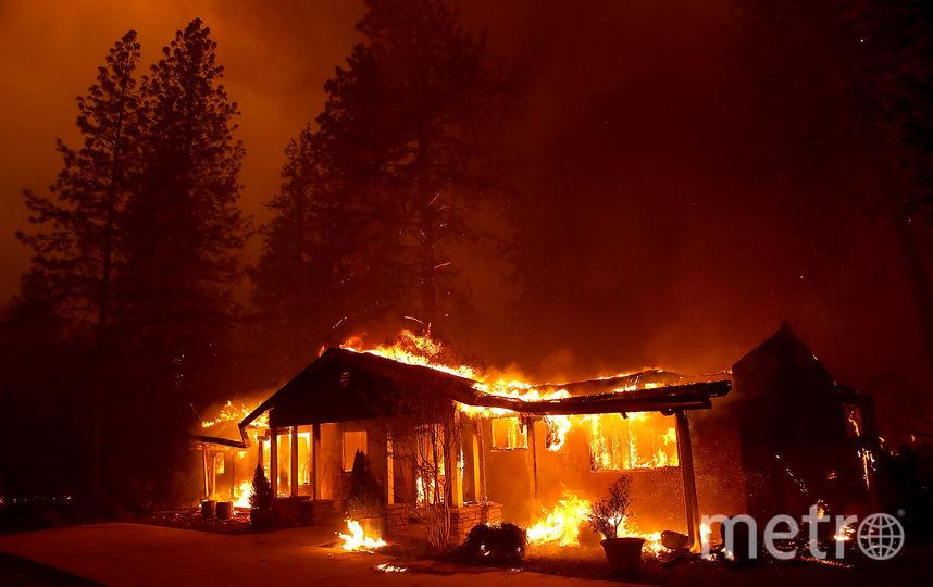 Пожары в Калифорнии уничтожили сотни тысяч домов. Фото Getty