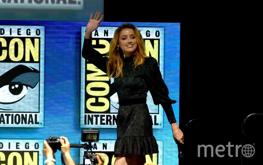 "Об ""Аквамене"" актеры рассказали на фестивале Comic-Con в июле 2018 года. Фото Getty"