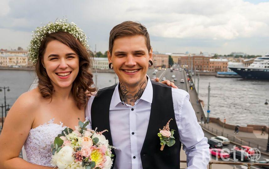 Фото со свадьбы Александры и Димы. Фото vk.com