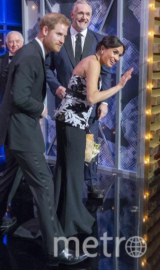"Меган Маркл в театре ""Палладиум"". Фото Getty"