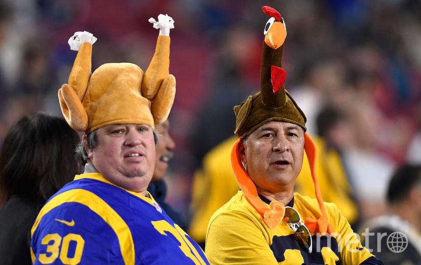 День благодарения в США отмечается в четвертый четверг ноября. Фото Getty