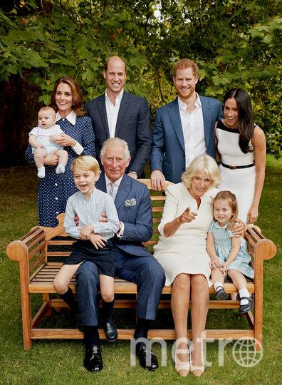 Британская королевская семья. Фото AFP