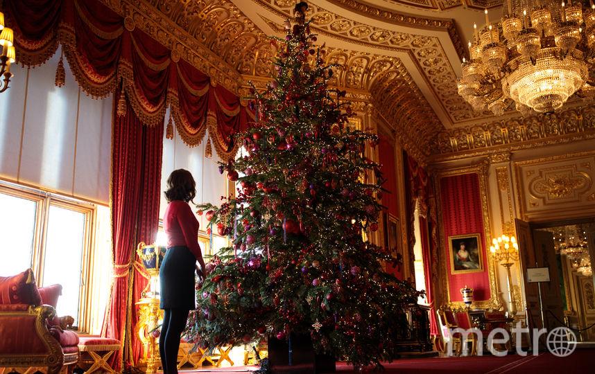 Украшение Виндзорского замка перед Рождеством. Фото Getty