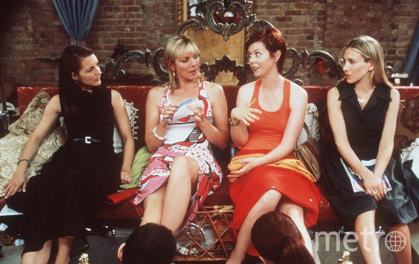 """Кадр из сериала """"Секс в большом городе"""". Фото Getty"""