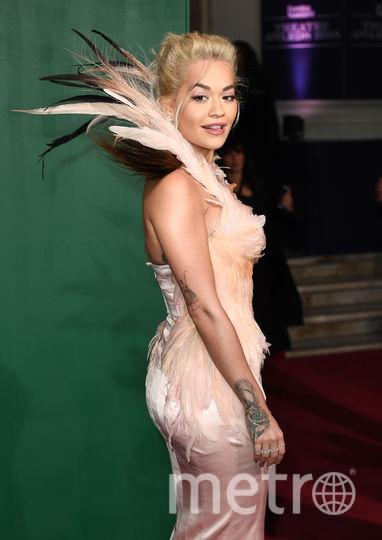 Рита Ора на Evening Standard Theatre Awards. Фото Getty