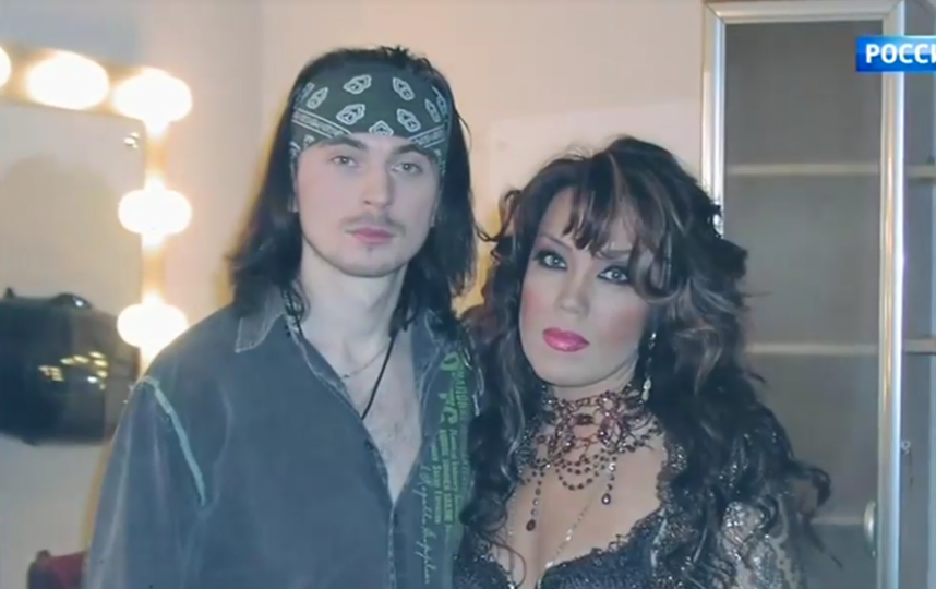 Азиза и сын Игоря Талькова. Фото Скриншот Youtube