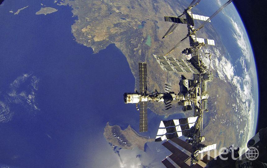 Вид Земли с МКС. Фото Роскосмос