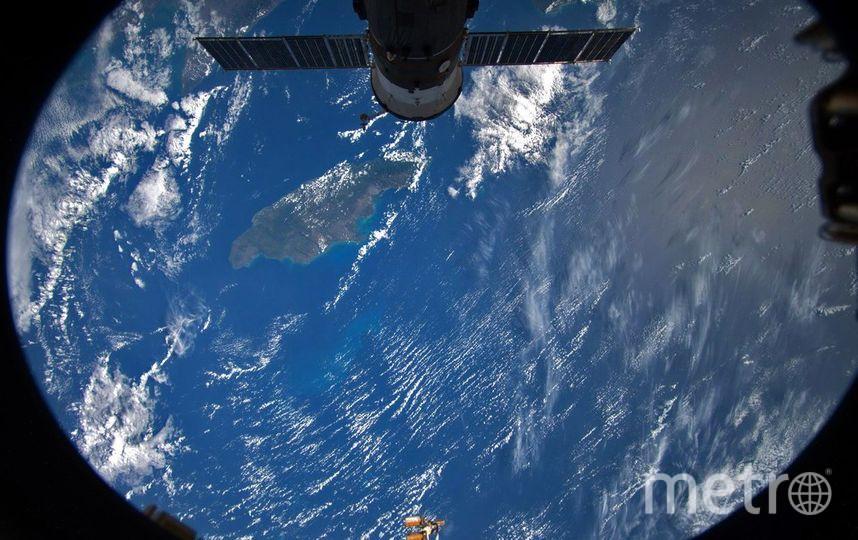 Островное государство Ямайка в иллюминаторе Международной космической станции. Фото Фотография космонавта РОСКОСМОСА Антона ШКАПЛЕРОВА