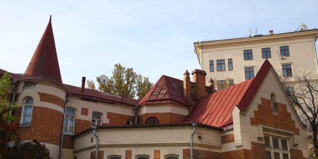 Резиденция посла Уругвая.
