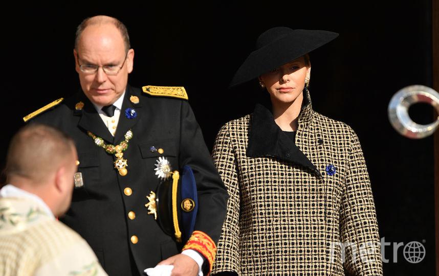 Принц Альбер с женой. Фото Getty