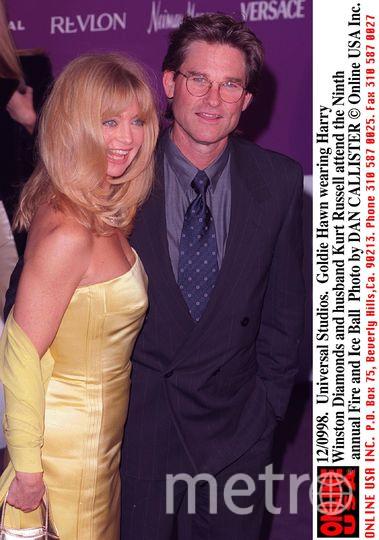 Голди Хоун и Курт Рассел. Фото Getty