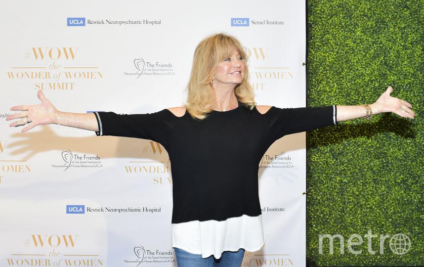 Голди Хоун сейчас, 2018. Фото Getty