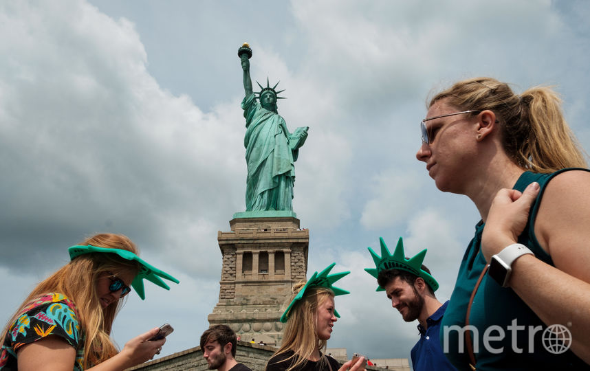 Статуя Свободы в США. Фото Getty