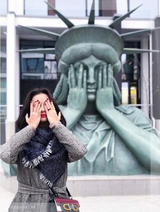 Статуя Свободы в Москве. Фото Instagram/nasti_list