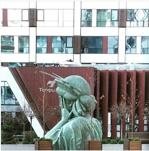Статуя Свободы в Москве. Фото Instagram/daria.cosmicfeel