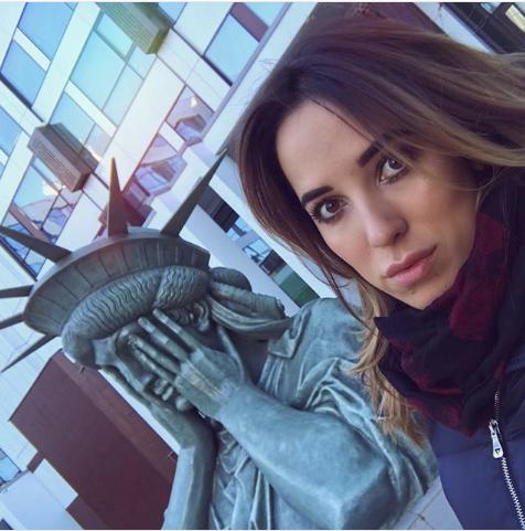 Статуя Свободы в Москве. Фото Instagram/iris_sim