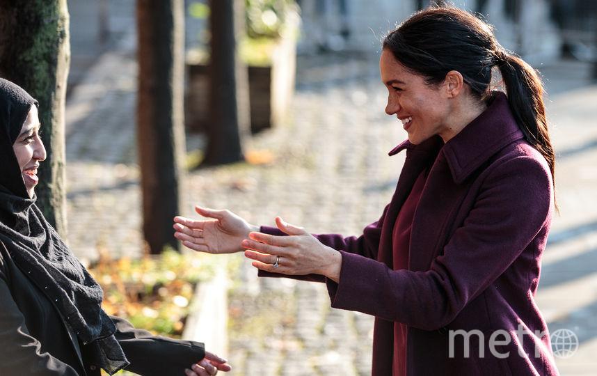 Меган Маркл 21 ноября посетила общину. Фото Getty