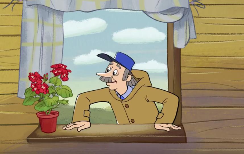 """Кадры из мультфильма """"Простоквашино"""". Фото Все - скриншот YouTube"""