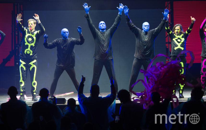 """Легендарное шоу Blue Man Group приехало в Россию. Фото Святослав Акимов., """"Metro"""""""