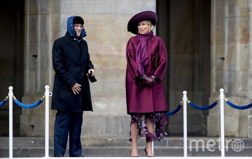 Королева Максима и супруг президента Сингапура. Фото Getty