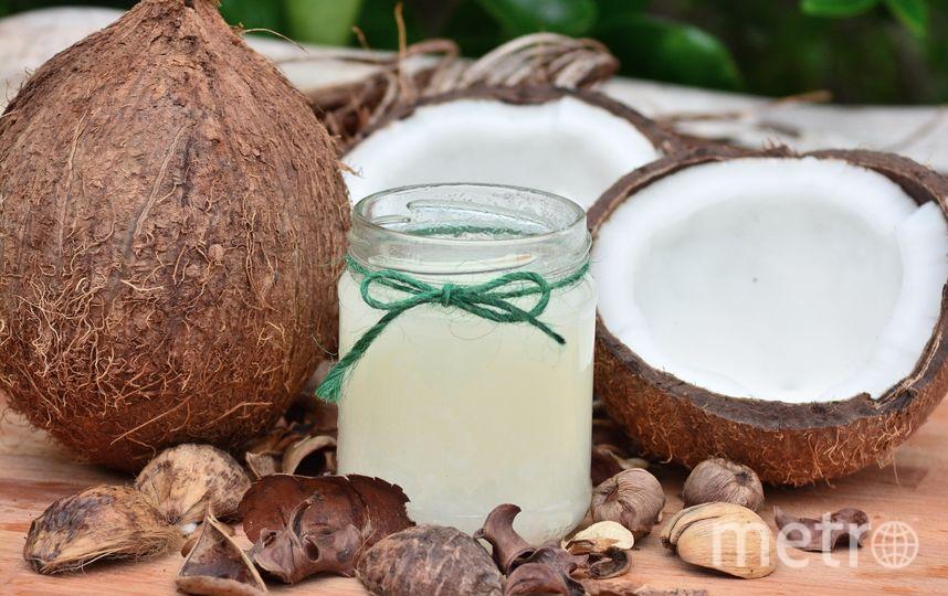 Кокосовое масло. Фото Pixabay