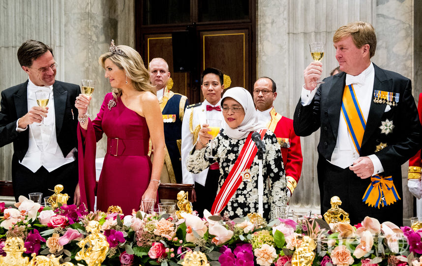 Торжественный ужин у короля Нидерландов. Фото Getty