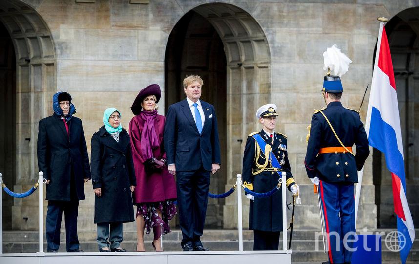 Торжественная встреча у дворца. Фото Getty