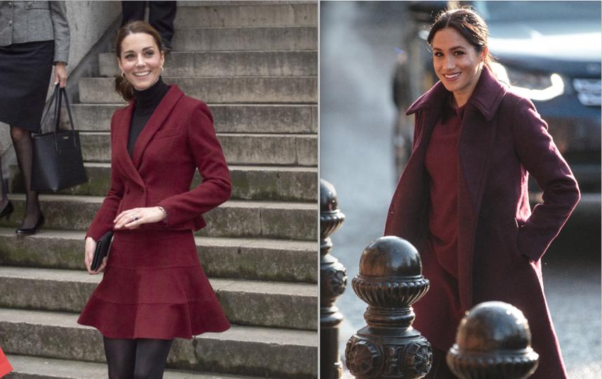 Обе герцогини появились на публике 21 ноября в разных местах в Лондоне. Фото Getty