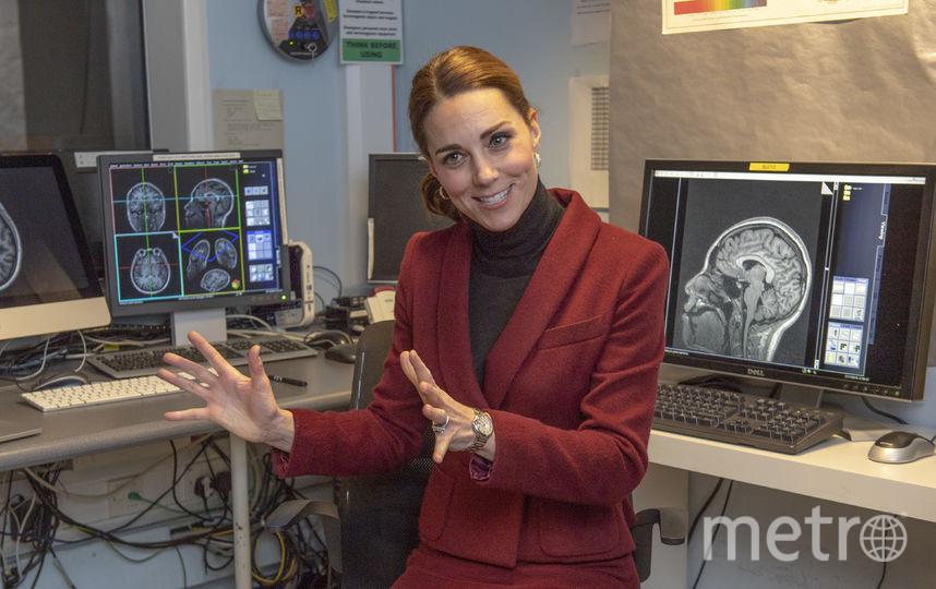 кейт Миддлтон посетила исследовательский центр. Фото Getty
