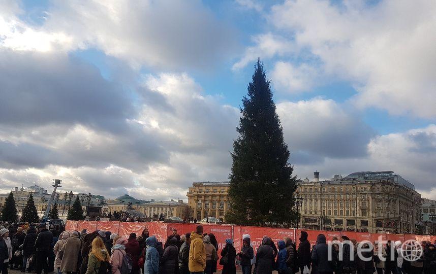 Москва готовится к Новому году. Фото Василий Кузьмичёнок