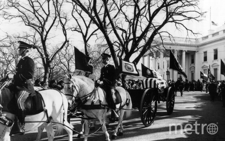 Америка прощается с Джоном Кеннеди. Фото Getty
