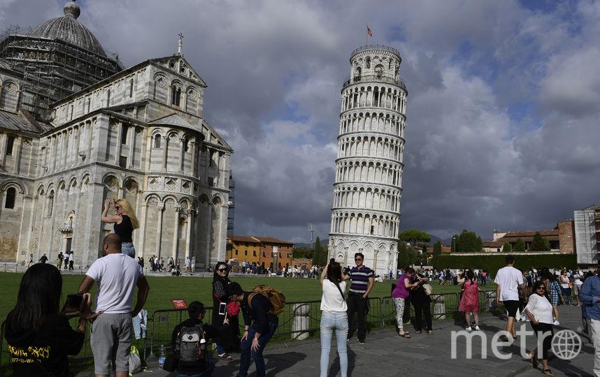 Строительство Пизанской башни началось в 1173 году и продлилось почти 200 лет. Фото AFP