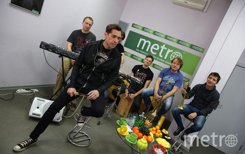 Макс Покровский дал жару в редакции Metro. Фото Василий Кузьмичёнок