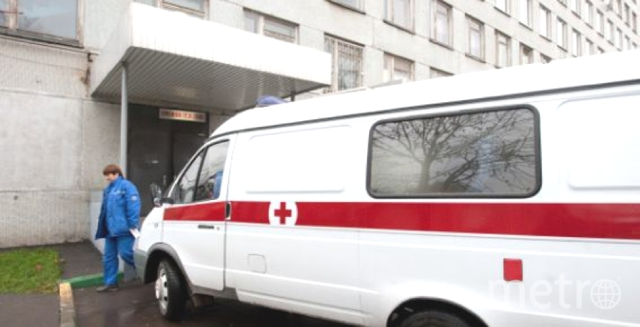 """Ребенка доставили в больницу прямо с тренировки. Фото """"Metro"""""""