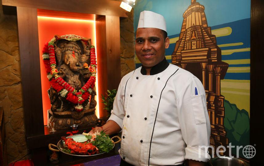 "Дивана Сингха, шеф-повара индийского ресторана ""Хаджурао"". Фото Василий Кузьмичёнок"