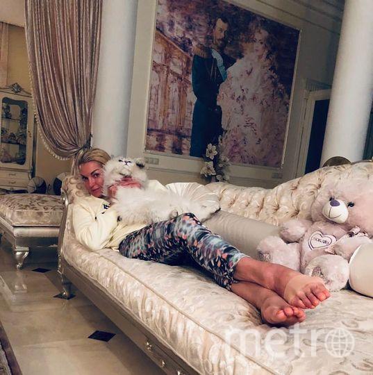 Анастасия Волочкова. Фото Скриншот Instagram: @volochkova_art
