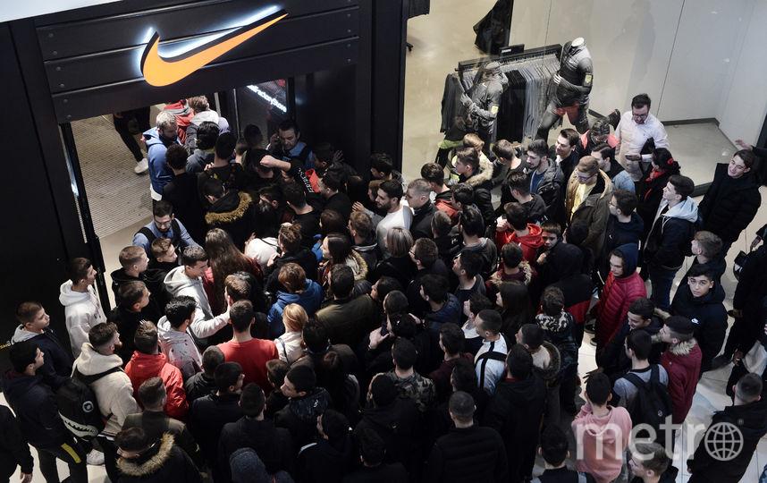 """""""Чёрная пятница"""" 23 ноября 2018 года. Фото AFP"""