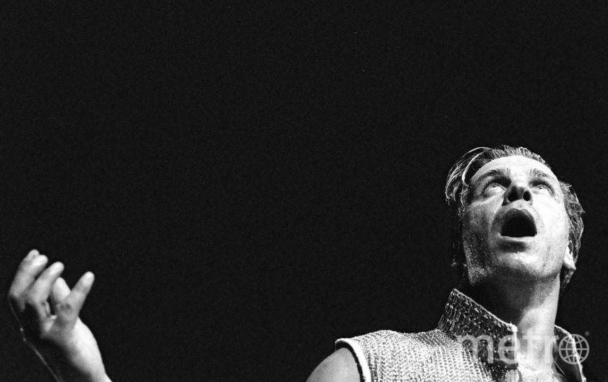 Солист Rammstein Тилль Линдеманн. Фото Getty