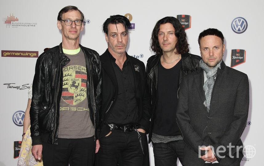 Rammstein. Фото Getty
