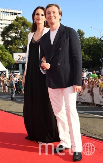 Сергей Безруков и Анна Матисон. Фото РИА Новости
