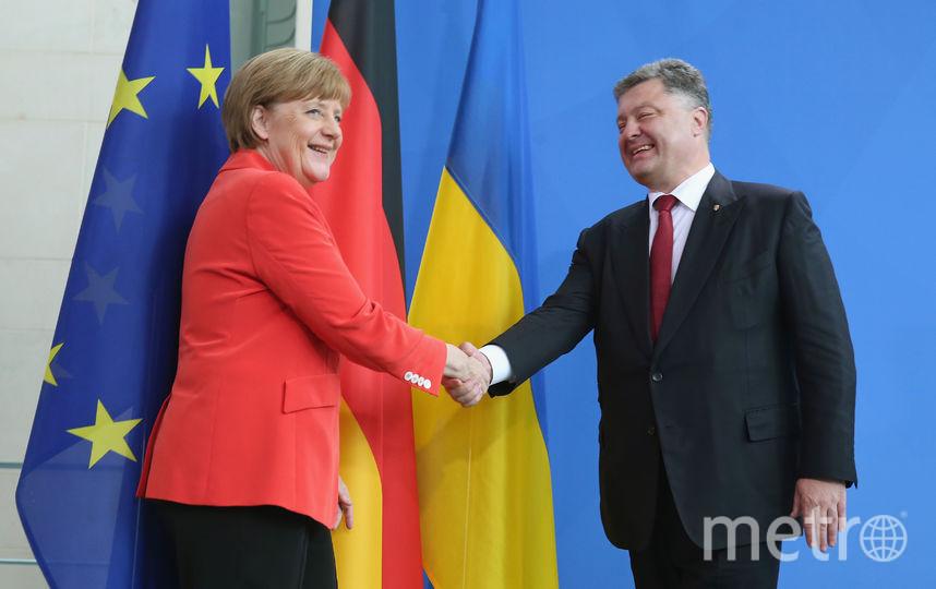 Вгосударстве Украина поведали обобещании Меркель принять страну вЕС